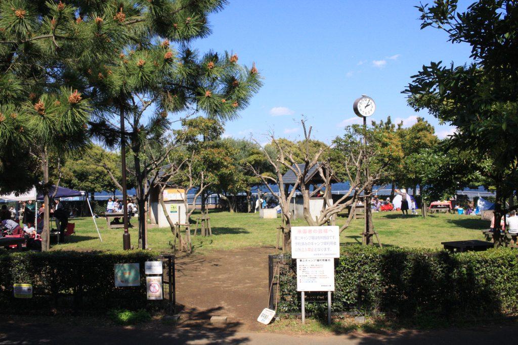 城南島海浜公園のBBQその1