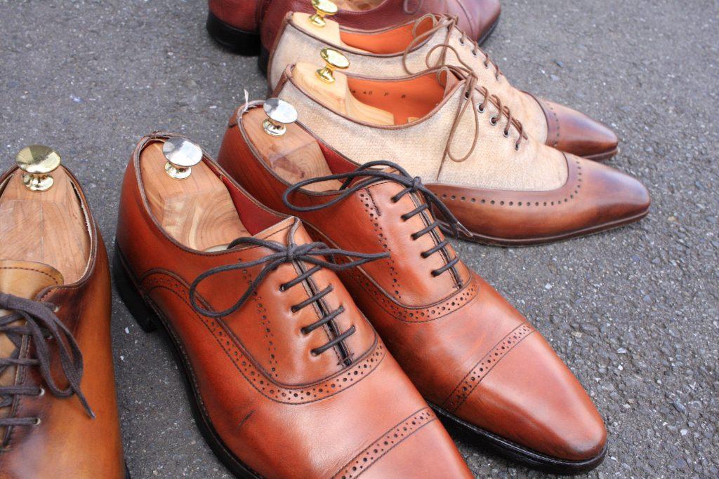 大切な靴たち