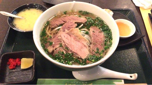 【ベトナム料理・イエローバンブー@虎ノ門】ランチのフォーのコスパが最強!!