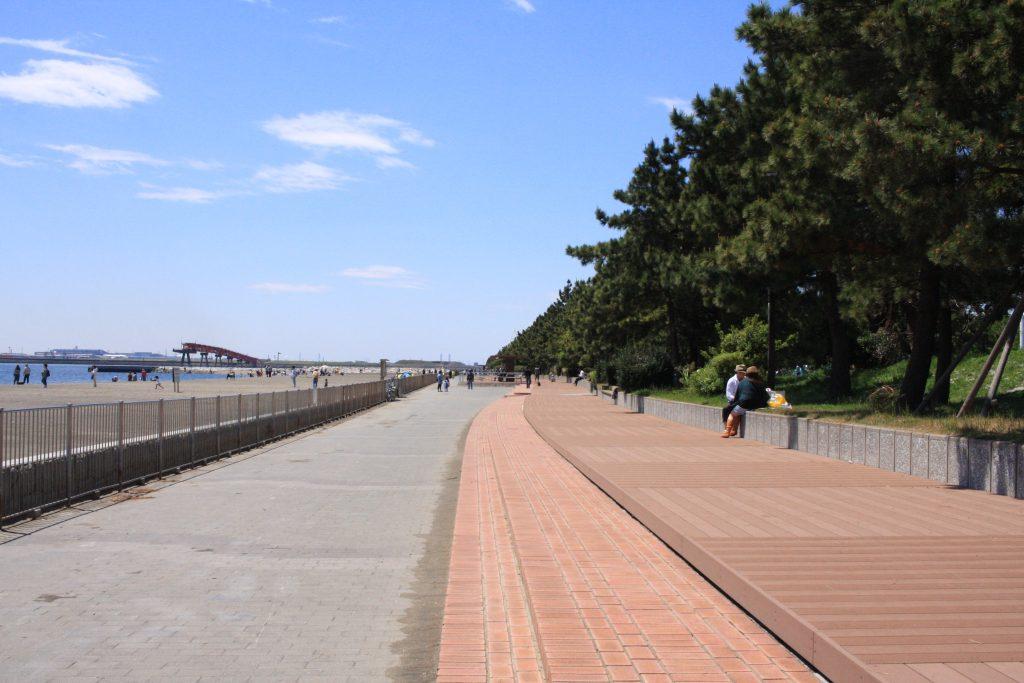 城南島海浜公園の園内