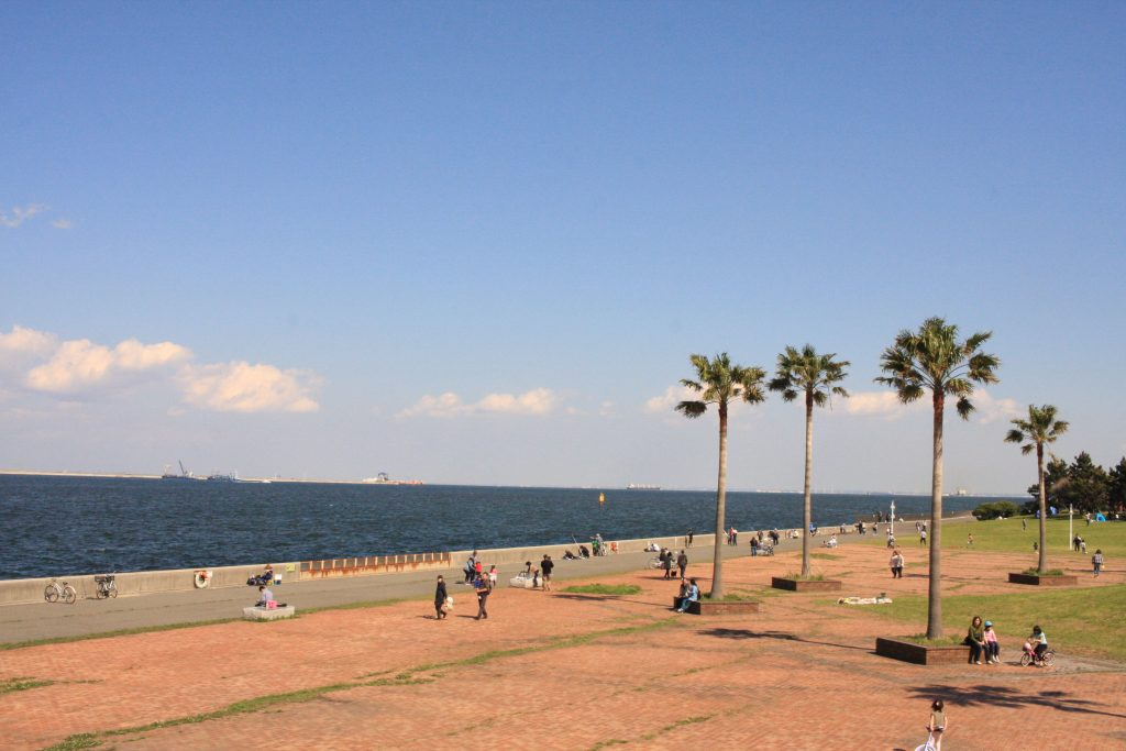 城南島海浜公園の釣り場その1