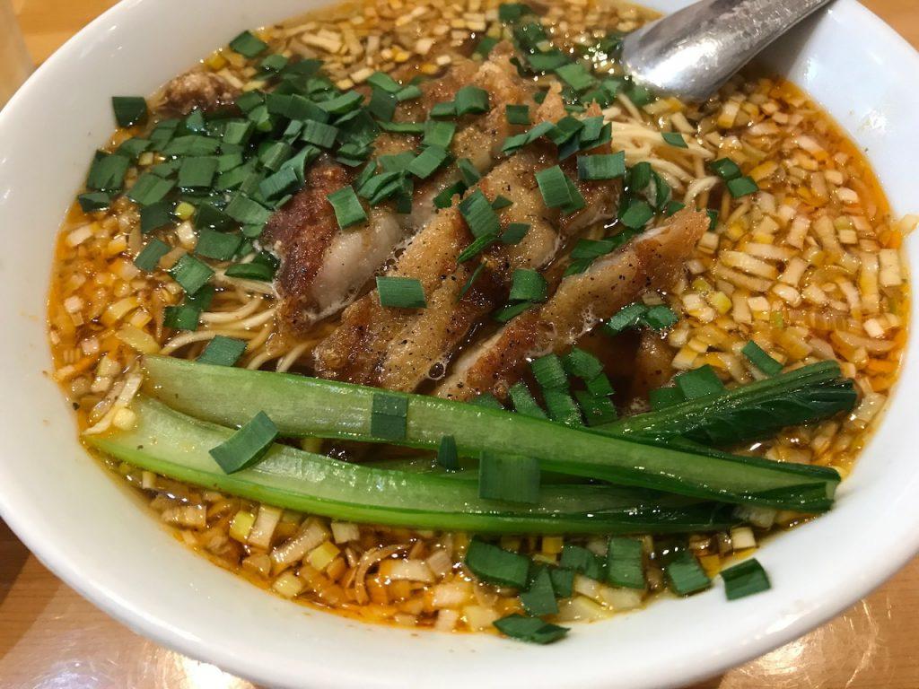 瀬佐味亭の排骨酸辣麺