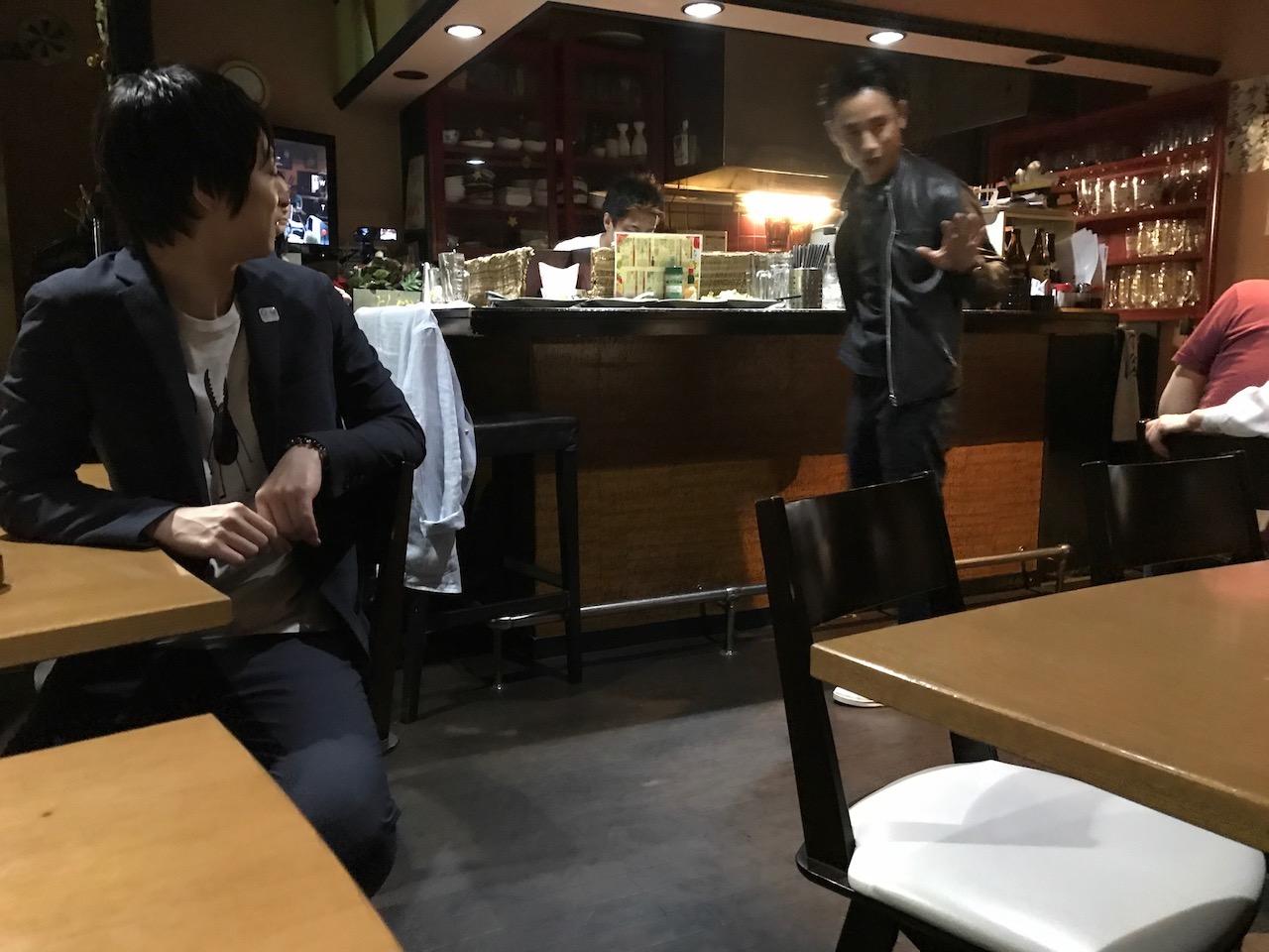 居酒屋とまとの小林さん