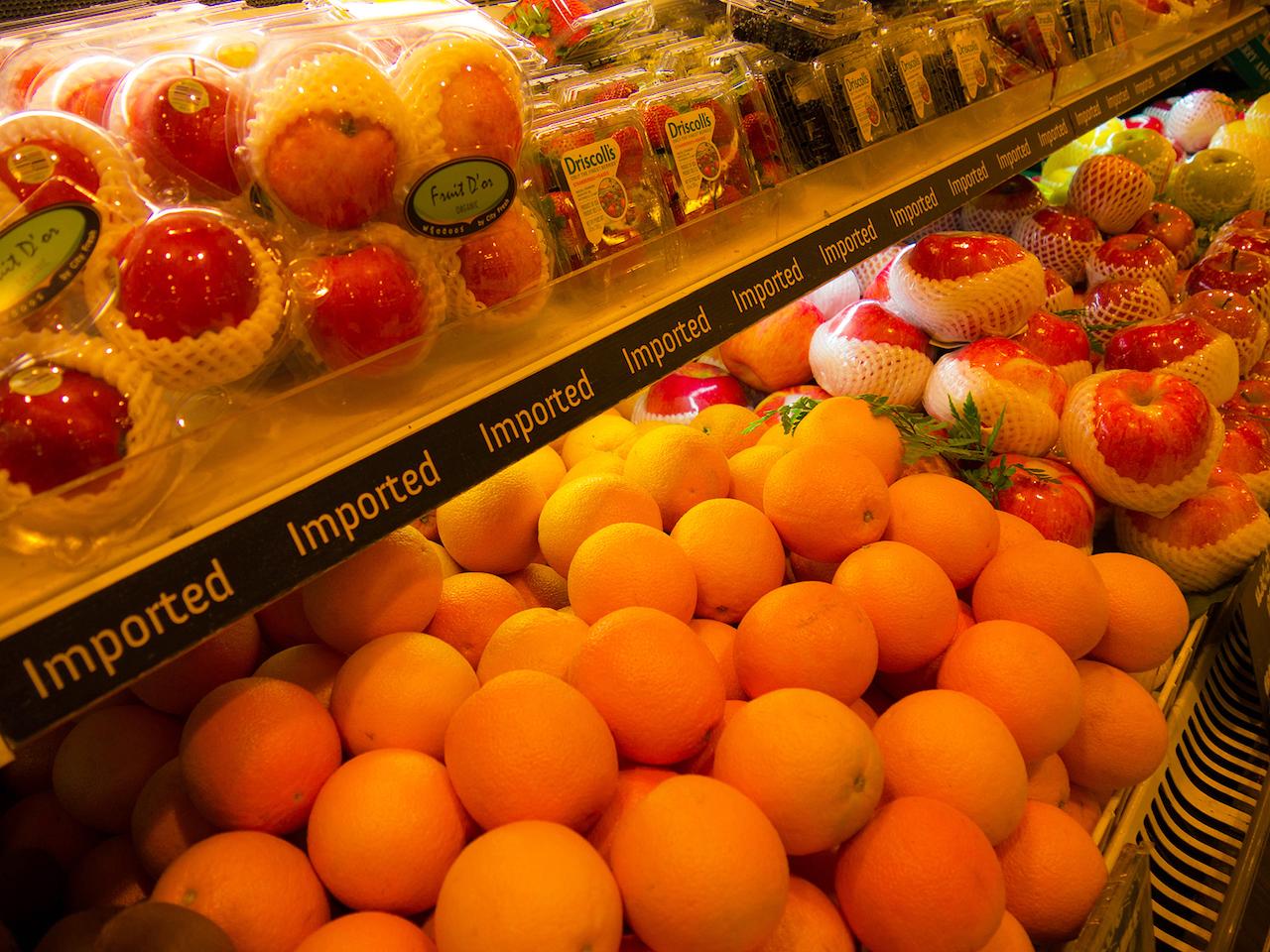 フレッシュなフルーツ