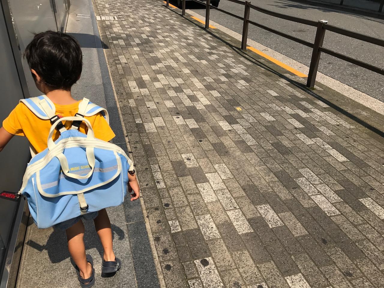 ヤマハ音楽教室の幼児科に次男と行く-7月8日