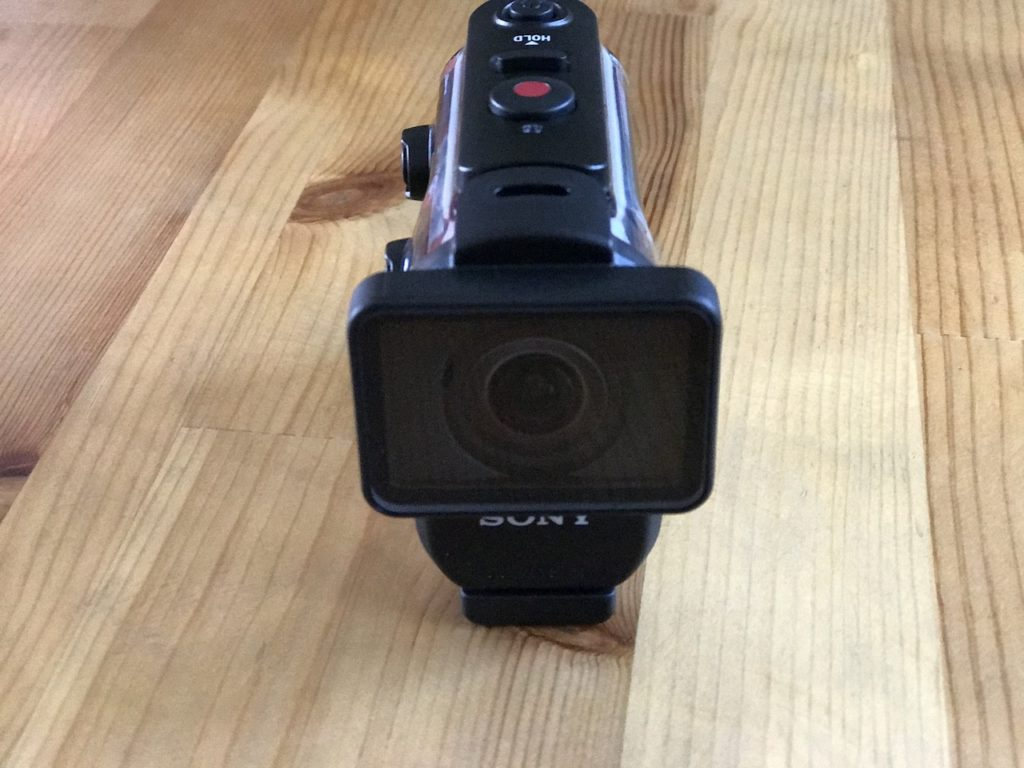 Sony HDR-AS300の正面