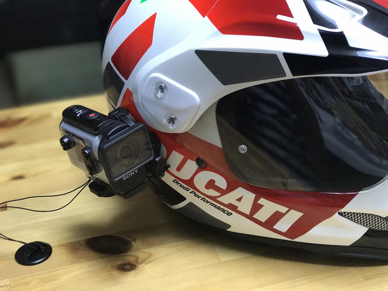 Sony HDR-AS300のアクションカメラを購入してヘルメットにつけてヨーロッパツーリングをより楽しむぞ!!FDR-X3000を選ばなった理由もご紹介