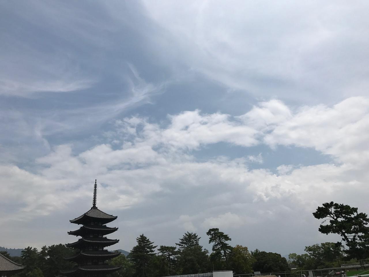 1日で関空から奈良の大神神社を参拝して、三輪そうめん食べて、興福寺行って春日大社行って東大寺行ってあべのハルカスを見上げつつ伊丹空港から羽田に帰ってくる一人修学旅行を満喫した日。たぶん体力的にもうできない弾丸ツアー。