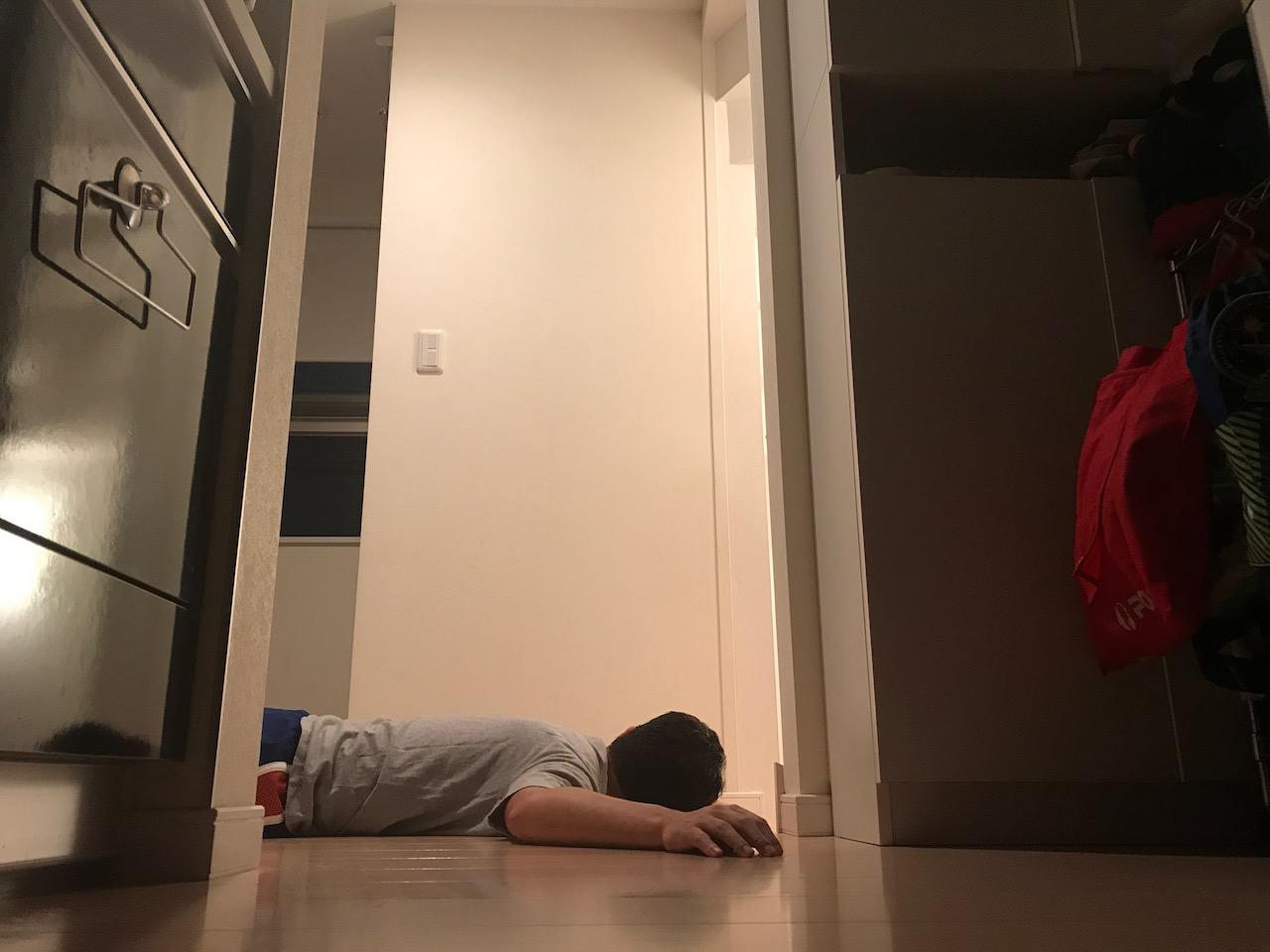 30代前半の男子が5ヶ月で倒立を10秒間できるようになるのか挑戦だ!!54日目休養日