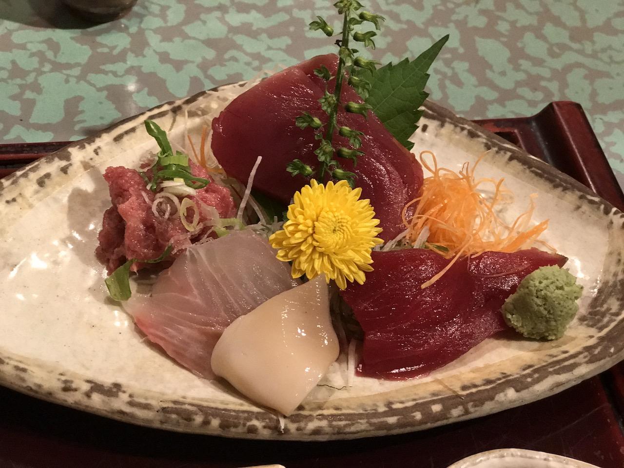 【割烹きむら@銀座】大人の美味しいお刺身のランチがおすすめ!!