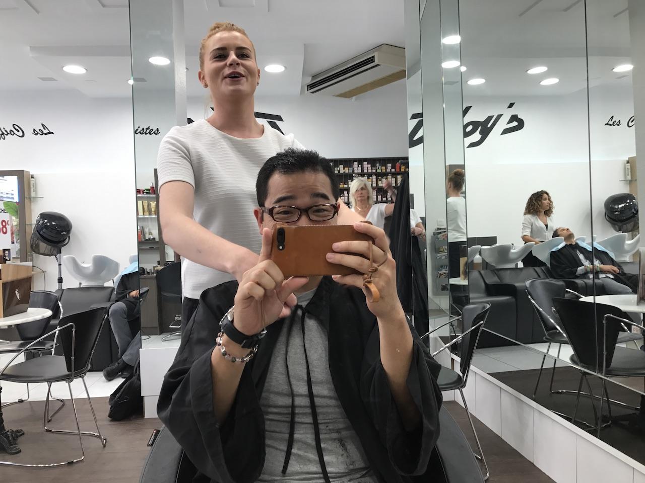 初めて海外で髪を切ってもらってみた。フランスで髪を切ってもフランス人のようなイケメンにはならないお話