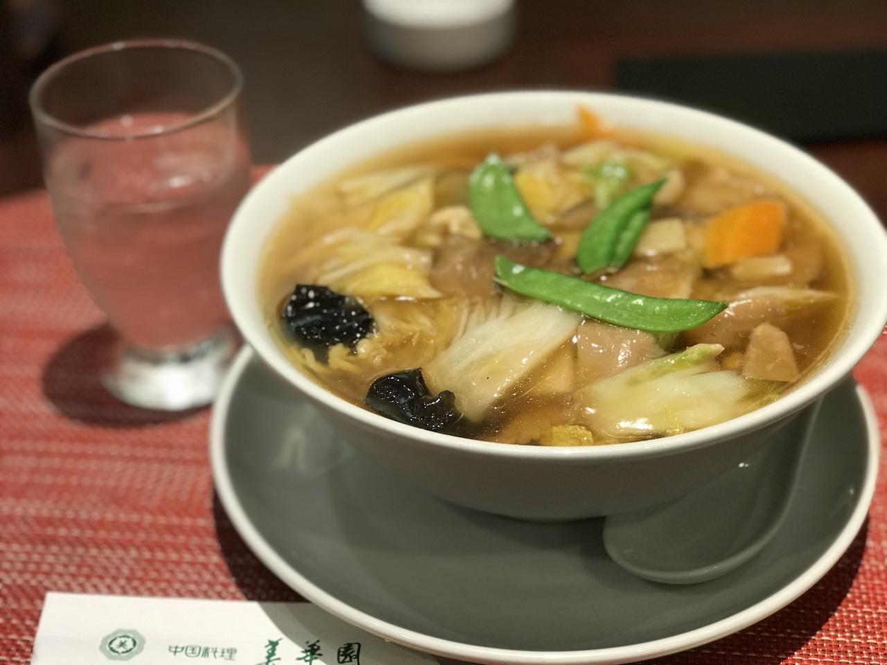 【中華料理・美華園@新橋】五目つゆそばの優しい味に癒される。