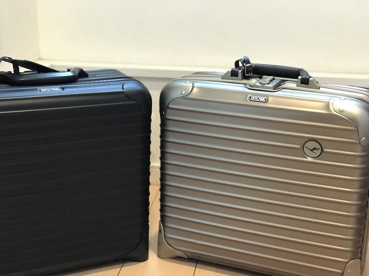 【徹底比較】リモワスーツケース、トパーズvsサルサ買うならどっち?