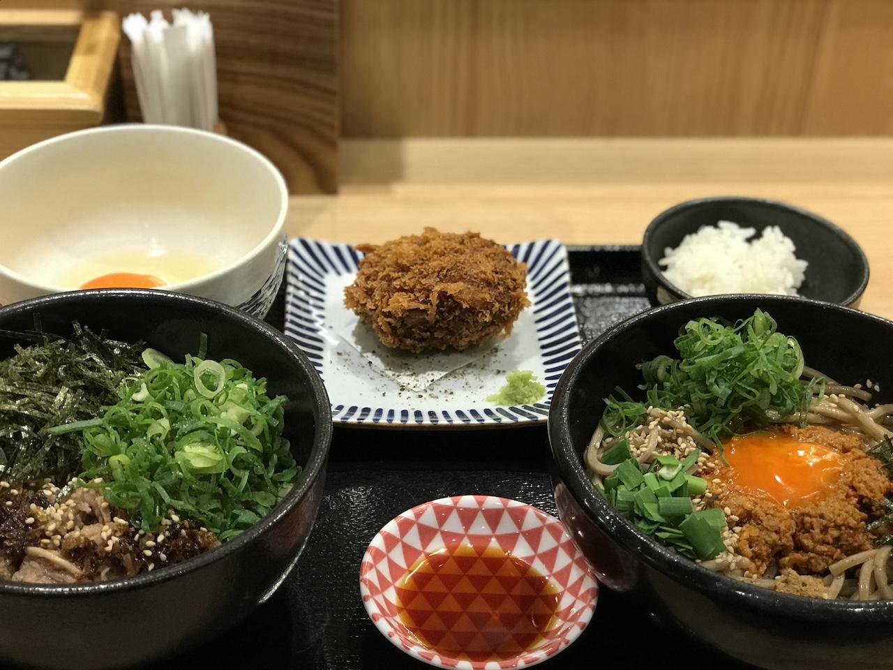 【肉そば・ごん@虎ノ門】お蕎麦というよりラーメンに近い肉そばランチ!