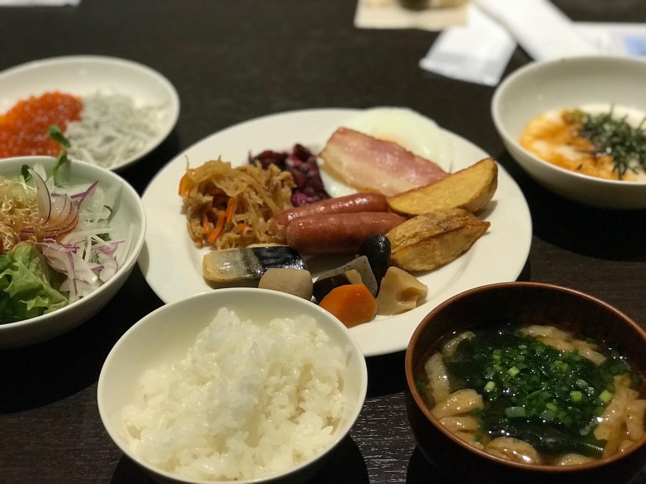 【JALシティ羽田・はるほろ@穴守稲荷】朝食ブッフェはメニュー豊富でコスパが良い!