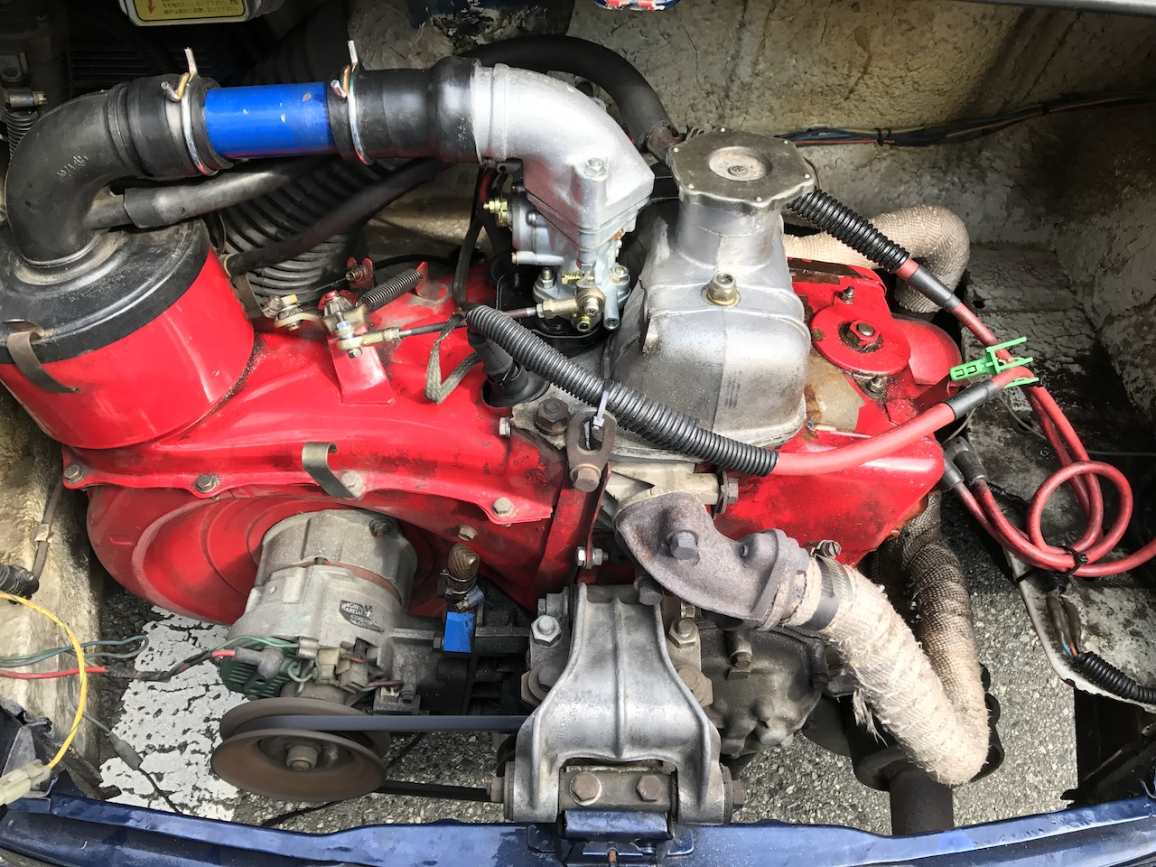 『旧チンクエチェント500』の650ccエンジンを海外から買ってみた。