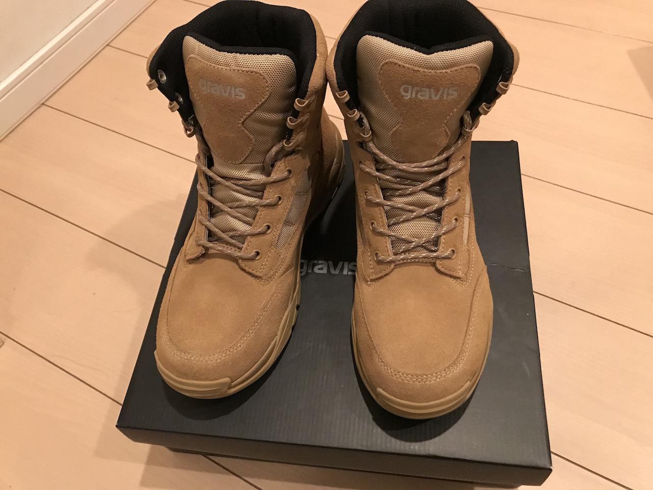 グラビス(gravis)のAWOブーツが軽くて、とってもおすすめ!ブーツかスニーカーのどっちを買うか迷ったらこの靴で決まり!