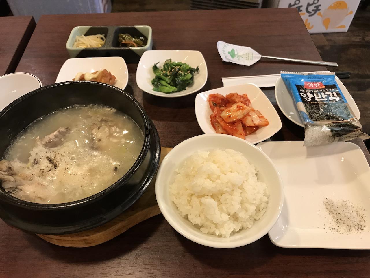 【韓国料理・とりちゃん@東日本】参鶏湯(サムゲタン)の優しい味に癒されてみませんか?