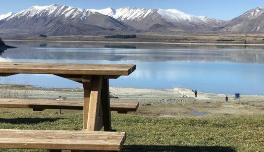 テカポ湖の星空に感動した日|ニュージーランドキャンピングカー旅行1日目