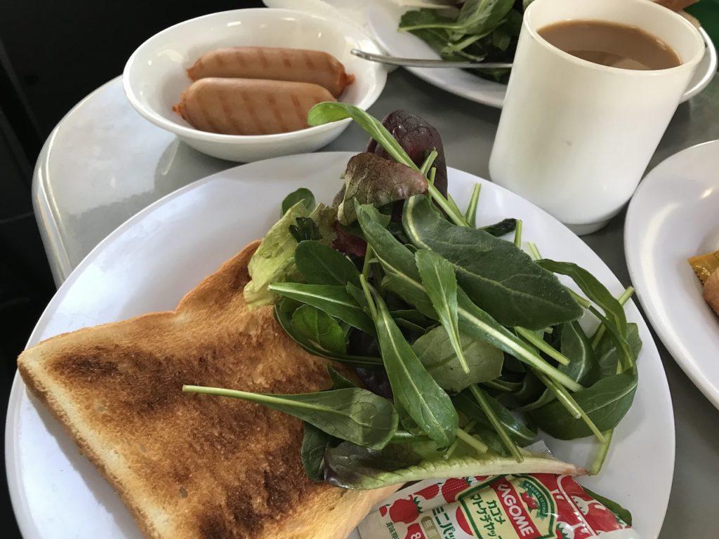 オーソドックスな朝食