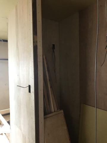 2階の冷蔵庫スペース