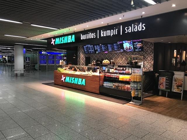 フランクフルト空港にあるレストラン