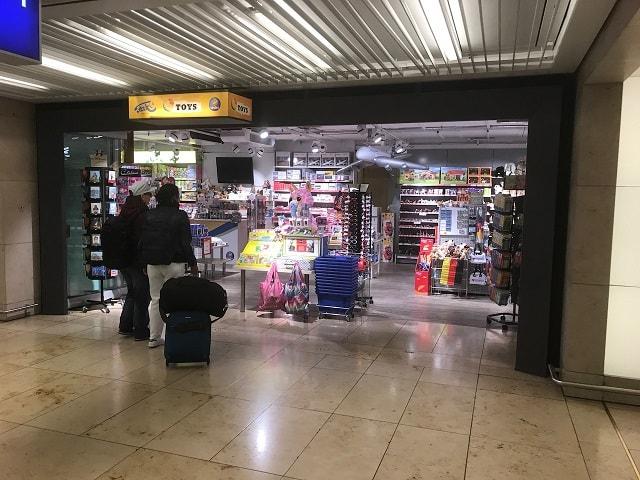 フランクフルト空港にあるおもちゃ屋さん